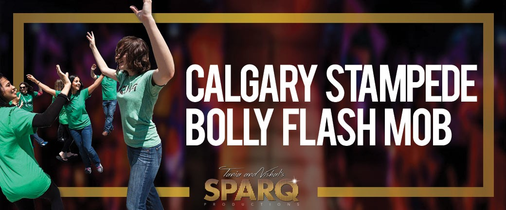 Calgary Stampede Bolly Flash Mob